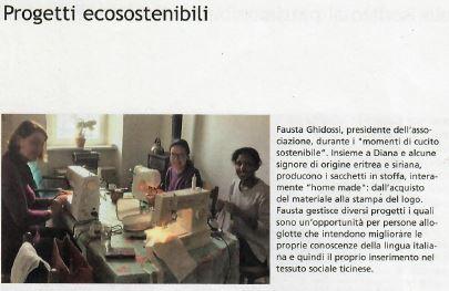 Articolo Progetti Ecosostenbili Agricoltore Ticinese Del 4.9.2020